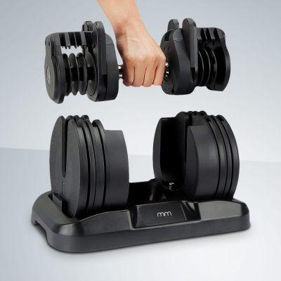 Håndvægtsæt med justerbar vægt