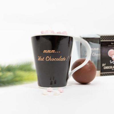 Chokoladebombe med krus - gavesæt