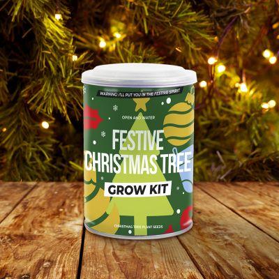 Juletræ på dåse