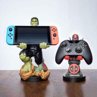 Marvel Smartphone holder med opladningskabel