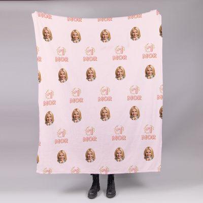 Lille tæppe med ansigter Nr. 1 Mor