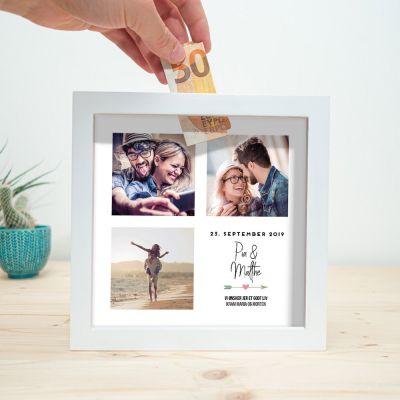 Sparebøsse til bryllup