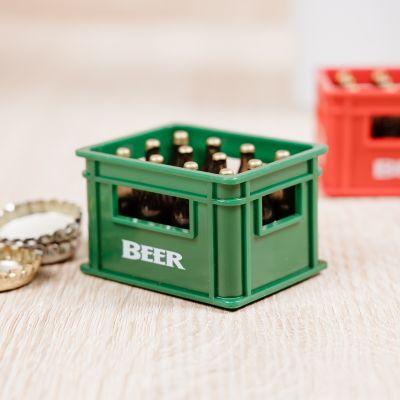 Mini ølkasse flaskeåbner