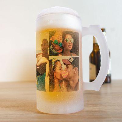 Ølkrus med 5 billeder
