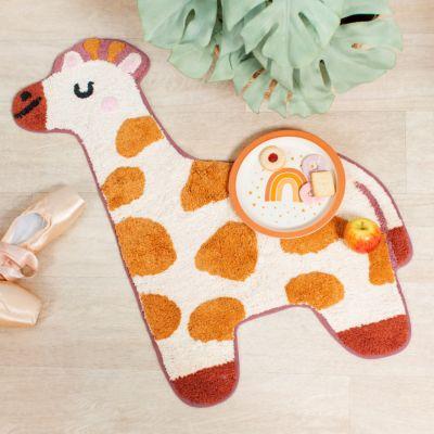 Mini giraf-tæppe