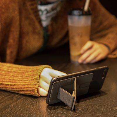 Smartphoneholder med kortrum