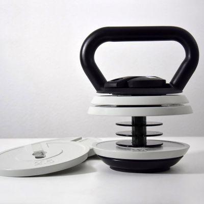 Kettlebell med justerbar vægt