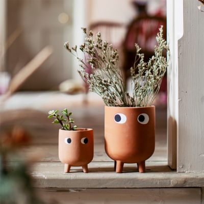 Leggy Terracotta Blomsterpotte