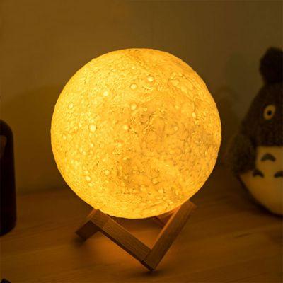 Måne natlampe med farveændring