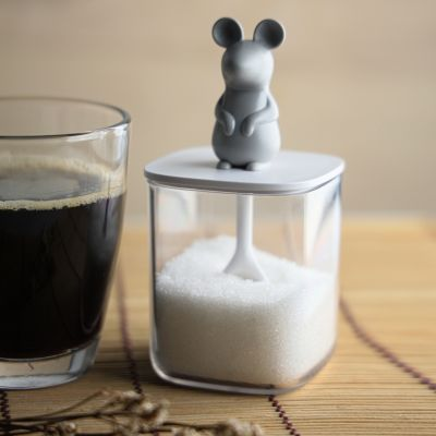Mus Salt- eller Sukkerbeholder