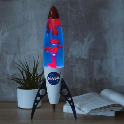 Retro NASA-galakselavalampe