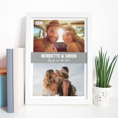 Plakat med 2 billeder og tekst