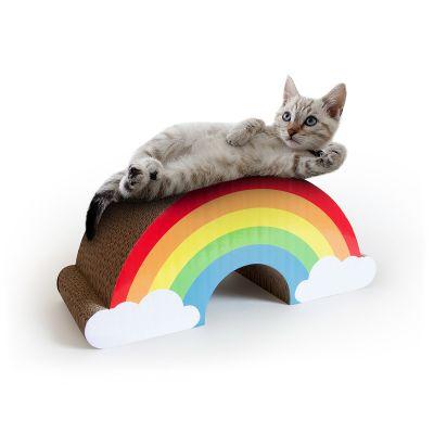 Regnbue kradsetræ til katte