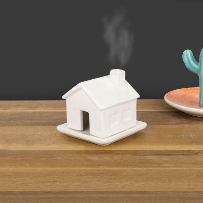 Røgelseshus i porcelæn