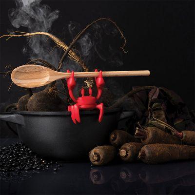 Rød krabbe-skeholder