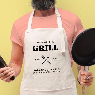Køkkenforklæde Grillkongen