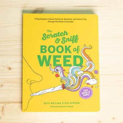 The Scratch & Sniff - Book of weed