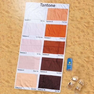 Standhåndklæde med farveskala