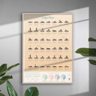 Yoga Flow Plakat