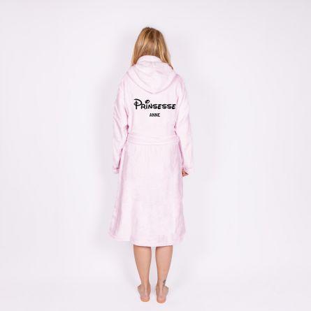 Personaliseret badekåbe Prinsessen