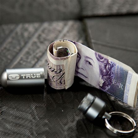 Cash Stash - pengeobevarende nøglering