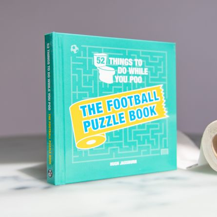 The Football Puzzle Book - til toilettet