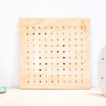 Word Search - Personaliseret Træ billede