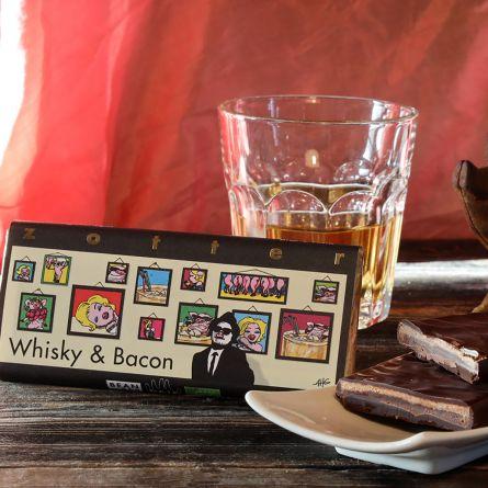 Zotter Chokolade Whisky & Bacon