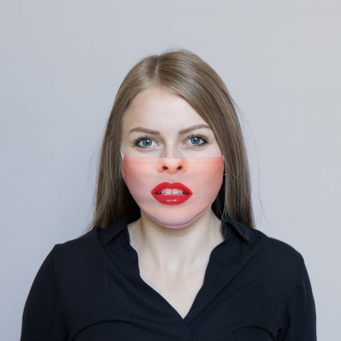 Ansigtsmaske Røde Læber