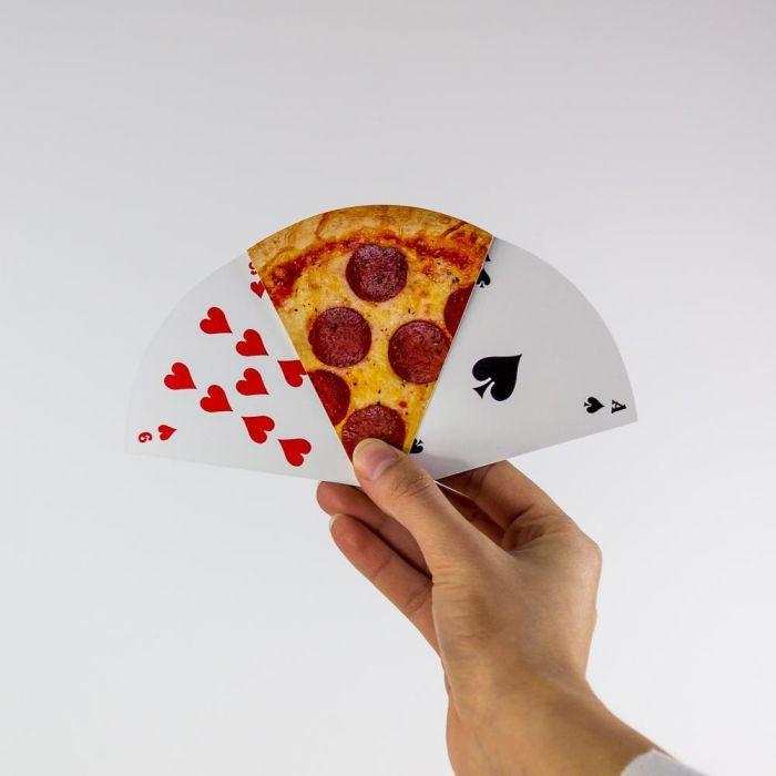 Pizza spillekort