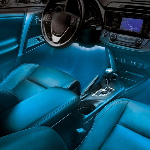 Atmosfærisk LED-belysning til bilen