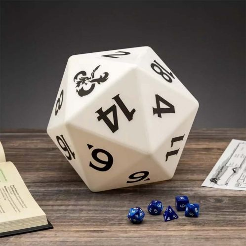 Dungeons & Dragons D20 lampe