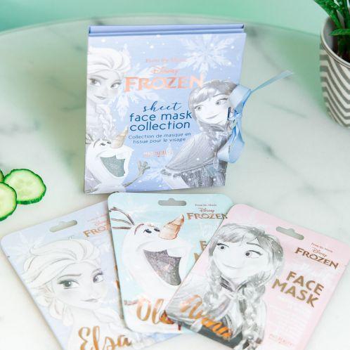 Frozen ansigtsmasker - sæt med 3