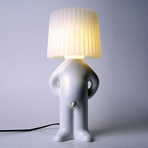 Mr. P. Lampe med skærm