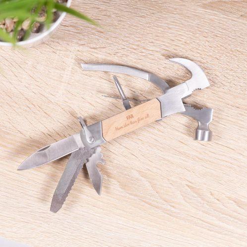 Hammer multiværktøj med indgravering