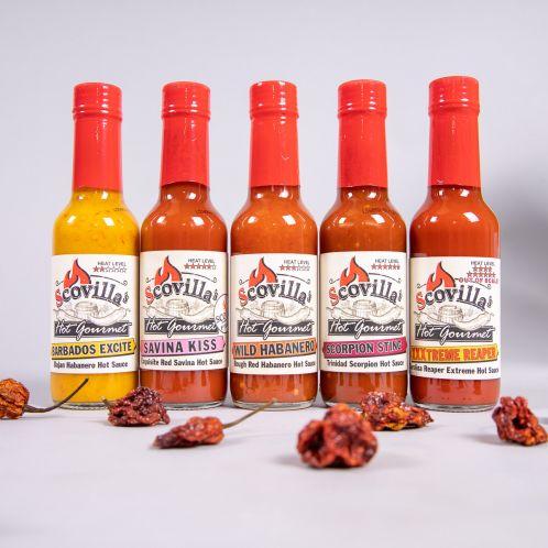 Scovilla Hot Gourmet Chilisauce