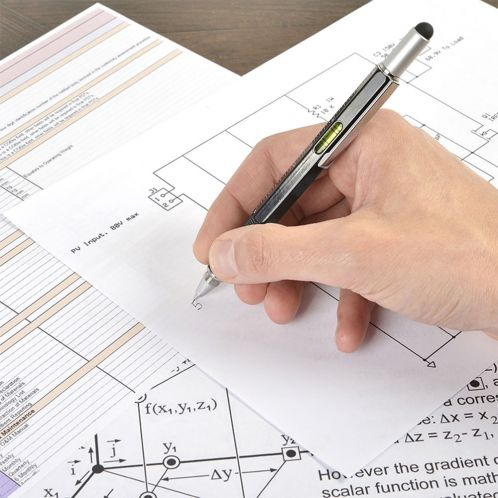 Tech Pen - multifunktionsskriveredskab