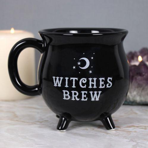 Heksekedelkop i sort