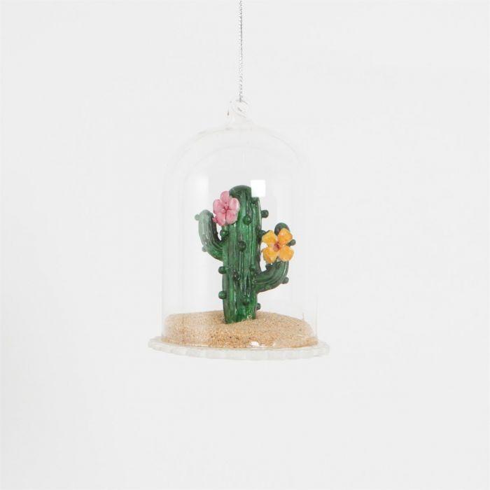 Kaktus som en fin juledekoration