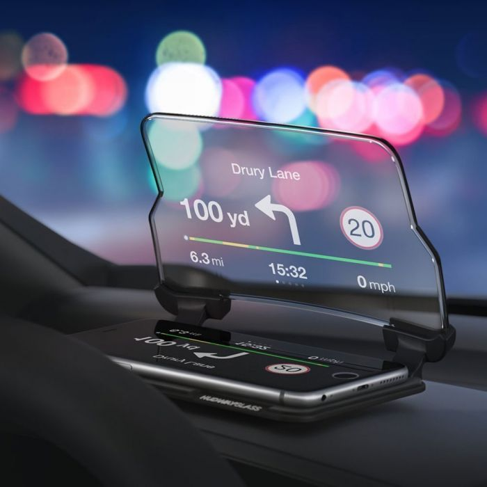 Head Up Display til Smartphones