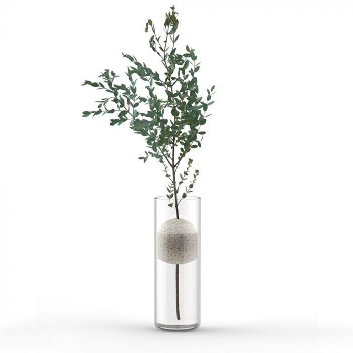 Lava Design Vase med Pimpsten