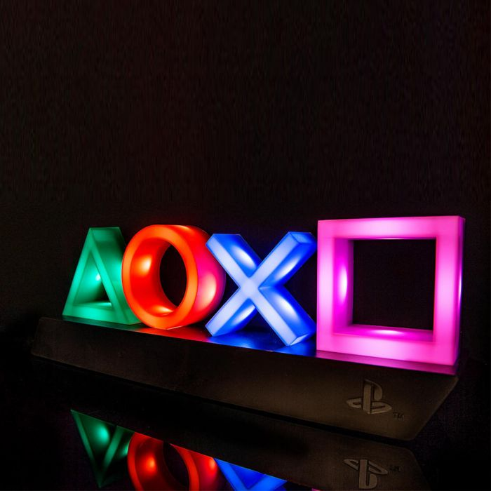 Playstation ikoner Bordlampe