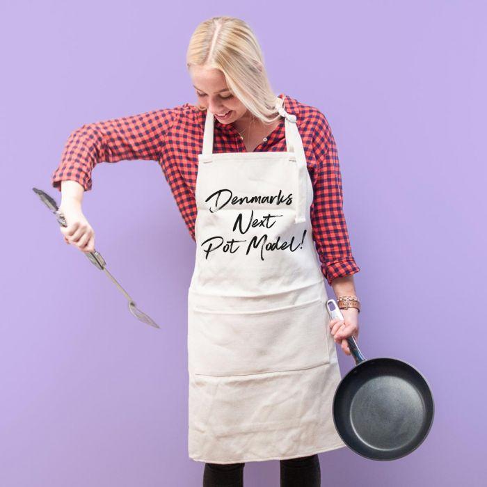 Personaliseret Køkkenforklæde