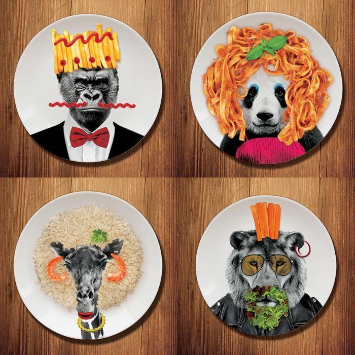 Vild middagstallerken