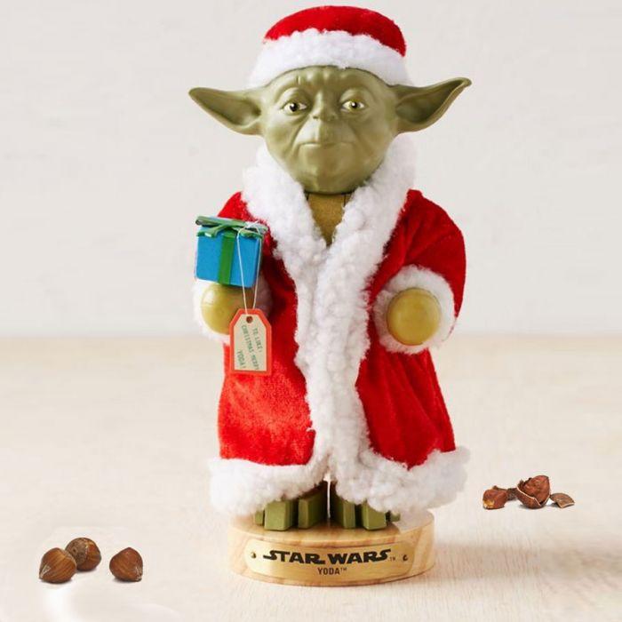 Star Wars Yoda Nøddeknækker