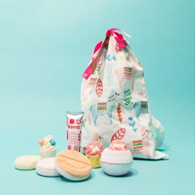 Alpaca badekugler i gavepose