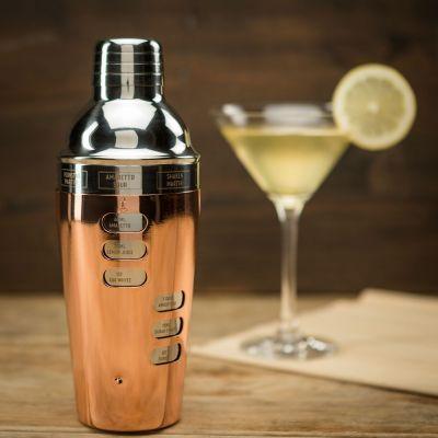 Design Cocktailshaker med opskrifter