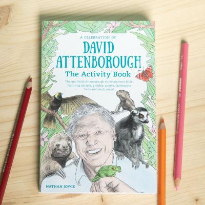 David Attenborough Activity Bog