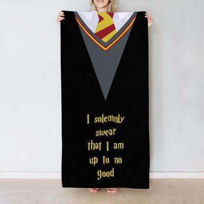 Håndklæde med 5 linjer i magisk stil