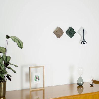 Monolyt magnetiske marmorblokke